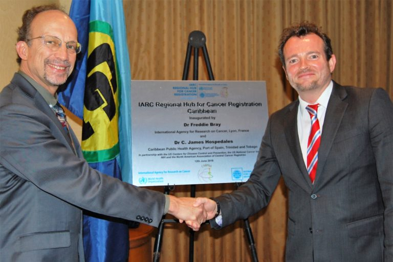 Inauguration of the IARC Caribbean Regional Hub for Cancer Registration (12 June 2018)