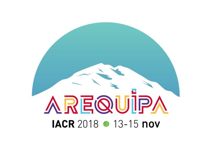 IACR's 2018 Annual Scientific Conference, 13 – 15 November 2018